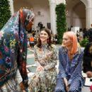 Alexandra Daddario – Tory Burch Show 2020 – New York Fashion Week - 454 x 303
