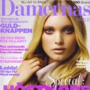 Elsa Hosk - Damernas Varld Magazine Cover [Sweden] (October 2007)