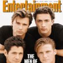Thomas Calabro, Grant Show, Andrew Shue, Jack Wagner - Entertainment Weekly Magazine Cover [United States] (20 May 1994)