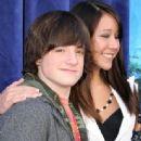 Joshua Hutcherson and Shannon Wada