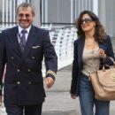 Salma Hayek's Venice Arrival