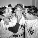 Phil Rizzuto, Hank Bauer & Yogi Berra - 240 x 202