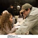 """Madison Pettis and Andy Fickman behind the scene of """"THE GAME PLAN"""" © Disney Enterprises, Inc. All rights reserved. Photo Credit: RON PHILLIPS"""
