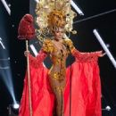 Myriam Arevalos- Miss Universe 2015 Preliminary Competition- National Costume - 454 x 591