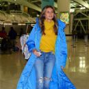 Heidi Klum – Arrives at JFK airport in NYC