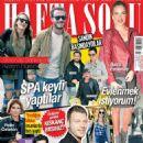 Fahriye Evcen, Burak Özçivit, Bergüzar Korel, Kerem Bursin, Serenay Sarikaya, Tarkan, Cem Yilmaz, Ivana Sert, Pelin Oztekin - Haftasonu Magazine Cover [Turkey] (4 November 2015)