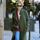 Ashley Benson in Long Coat – Out and about in NYC - 454 x 682