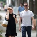 Kate Bosworth and Michael Polish out in Paris