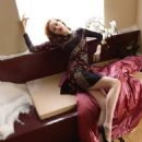 Thairine Garcia for Blumarine Fall/Winter 2014 ad campaign