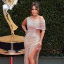 Adrienne Bailon – 2018 Daytime Emmy Awards in Pasadena - 454 x 641