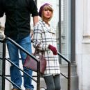 Taylor Swift leaving her Apartment Out in NYC December 19, 2014