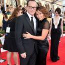Clark Gregg and Jennifer Grey