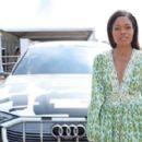 Naomie Harris – Audi Polo Challenge in Berkshire