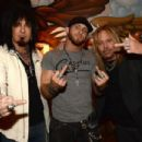 Brantley Gilbert  with Vince Neil & Nikki Sixx - 454 x 303
