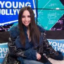 Sofia Carson – Visits the Young Hollywood Studio in LA