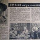 Jean Gabin - Cine Revelation Magazine Pictorial [France] (3 October 1957) - 454 x 271