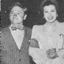 Sheila Ryan and Mickey Rooney - 438 x 580