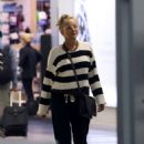 Sharon Stone at LAX Airport in Los Angeles - 454 x 683