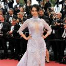 Mallika Sherawat – 'Sorry Angel' Premiere at 2018 Cannes Film Festival - 454 x 682