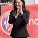 Kate Middleton at The London Marthon - 454 x 1107