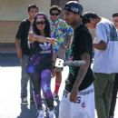 Blac Chyna and Tyga at Babies R Us in Calabasas - August 15, 2013 - 454 x 681