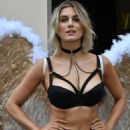 Ashley James – Simply Be's Christmas Collection Photocall in London - 454 x 681