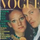 Helmut Berger and Marisa Berenson