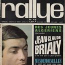 Jean-Claude Brialy - Rallye Jeunesse Magazine Cover [France] (April 1963)