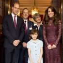 Catherine, Duchess of Cambridge, Prince William Windsor. at Britain Creative Event at Lancaster House (October 21, 2015)