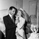 Jackie Loughery and Jack Webb