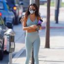 Chantel Jeffries – Arriving to the gym in West Hollywood