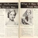 Bette Davis - Picture Play Magazine Pictorial [United States] (September 1935) - 454 x 315
