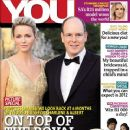 Prince Albert of Monaco, Princess Charlene of Monaco - You Magazine Cover [South Africa] (12 January 2012)