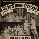 The Boys from Syracuse. Music By Richard Rodgers,Lyrics By Lorenz Hart - 454 x 480