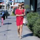 Reese Witherspoon at Tavern restaurant in Brentwood