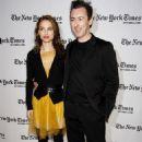 Natalie Portman and Alan Cumming