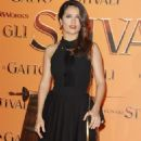 "Salma Hayek Premieres ""Puss In Boots"" In Rome"