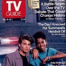 Johnny Depp and Holly Robinson Peete on TV Guide - 383 x 574