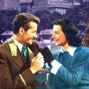 Robert Walker and Hedy Lamarr