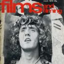 Roger Daltrey - Films and Filming Magazine Cover [United Kingdom] (March 1975)