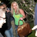 Britney Spears Arriving At Studio 2008-04-17