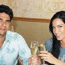Mark Philippoussis and Amanda Salinas