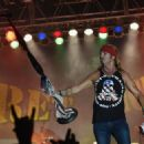 Bret Michaels performs at Tree Town Music Festival - Day 1 on May 25, 2017 in Forest City, Iowa - 454 x 325
