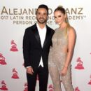 Luis Fonsi and Agueda Lopez– 2017 Person of the Year Gala Honoring Alejandro Sanz - Arrivals - 411 x 600