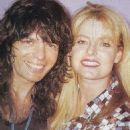 Rudy Sarzo and Rebecca Garrard