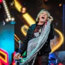 Joe Elliott - During Def Leppard's performance at the Tons of Rock Festival in Oslo, Norway on June 29th, 2019 - 454 x 303