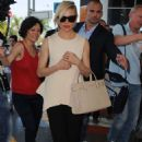 Sienna Miller At Airport In Nice
