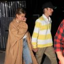 Hailey and Justin Bieber – Leave night church service in Beverly Hills