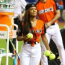 Christina Milian – 2017 MLB All-Star Legends and Celebrity Softball in Miami