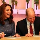 Prince Windsor and Kate Middleton  visit 'MESH', a work-space for start-up tech companies
